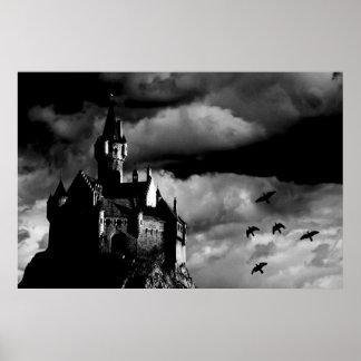 El castillo de Dracular Poster