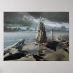 El castillo de la arena poster