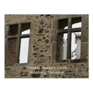 El castillo de la bella durmiente - Sababurg Tarjeta Postal