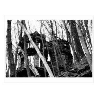 El castillo de la postal de Jim Thorpe