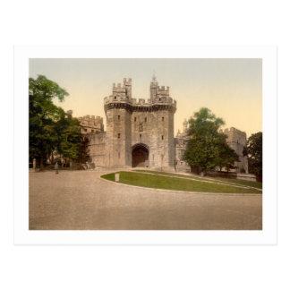 El castillo de Lancaster de la entrada Postal