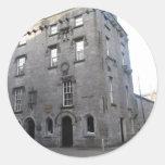 El castillo de Lynch, Galway Etiquetas Redondas