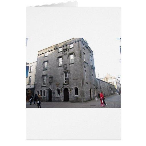 El castillo de Lynch, Galway Felicitación