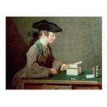 El castillo de naipes, c.1736-37 tarjetas postales