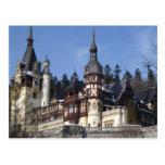 el castillo de Peles Tarjetas Postales