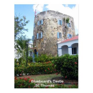 El castillo del Bluebeard, St Thomas Tarjetas Postales