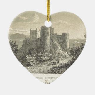 El castillo del ortenberg 1860, Darmstad Ornamentos De Navidad