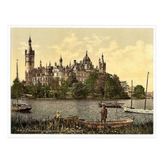 El castillo ducal, zona este, Schwerin, Mecklenbur Postales