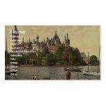 El castillo ducal, zona este, Schwerin, Mecklenbur Tarjeta Personal
