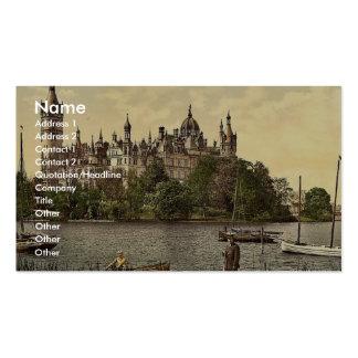 El castillo ducal, zona este, Schwerin, Tarjetas De Visita
