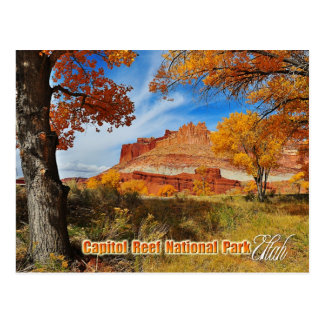 El castillo en el parque nacional del filón del postales