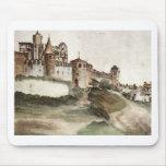 El castillo en Trento de Albrecht Durer Mousepads