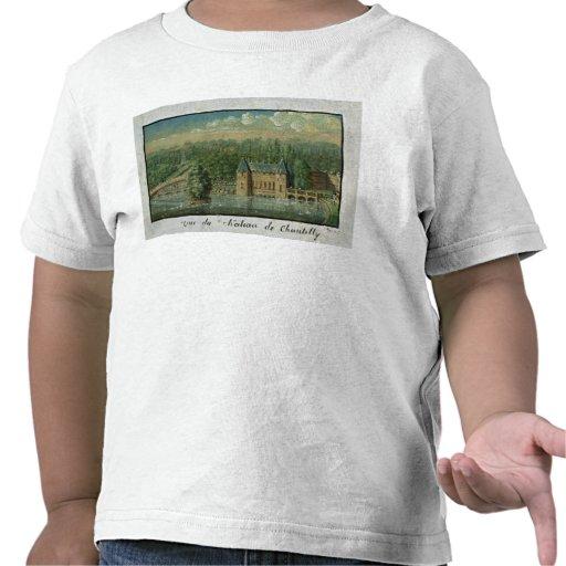 El castillo francés de Chantilly Camisetas