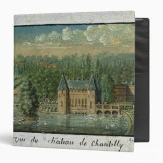 """El castillo francés de Chantilly Carpeta 1 1/2"""""""