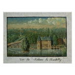 El castillo francés de Chantilly Impresiones