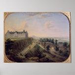 El castillo francés de Meudon Póster