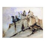 El castillo francés de Vianden, 1871 Tarjetas Postales