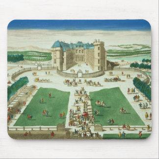 El castillo francés Rambouillet, grabada por Antoi Alfombrilla De Raton