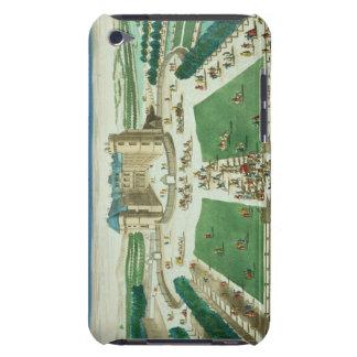 El castillo francés Rambouillet, grabada por Funda Para iPod De Barely There