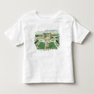 El castillo francés Rambouillet, grabada por Playera De Bebé