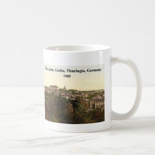 [El castillo, Gotha, Thuringia, Alemania 1905 Taza