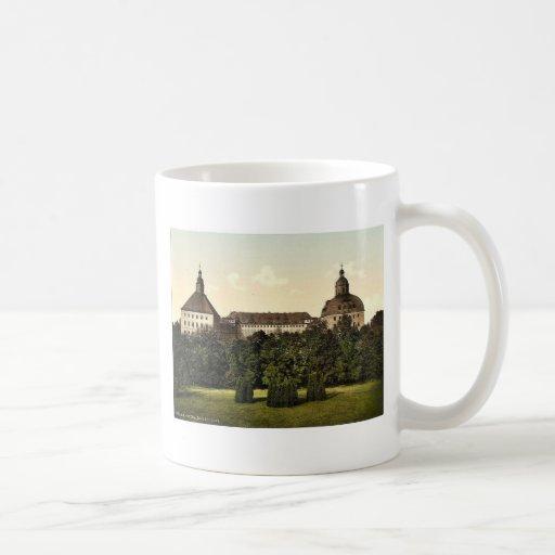 El castillo, Gotha, Thuringia, Alemania Photoch ra Tazas De Café