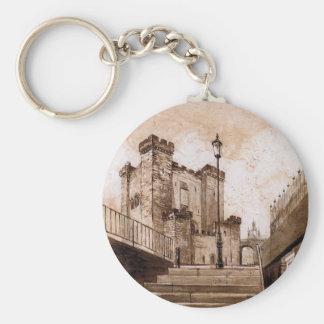 El castillo guarda, Newcastle sobre el llavero de