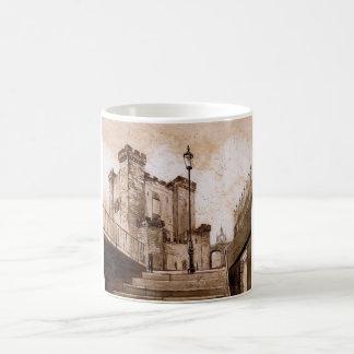 El castillo guarda, Newcastle sobre la taza de Tyn