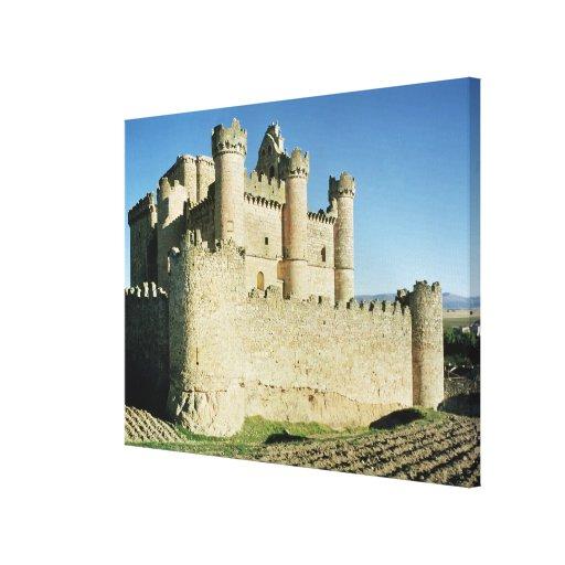 El castillo impresiones en lona