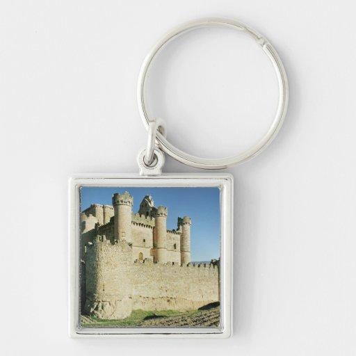 El castillo llavero personalizado