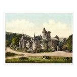 El castillo más bajo, Wilhelmshohe, Cassel (es dec Postal