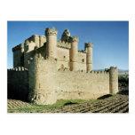 El castillo tarjeta postal