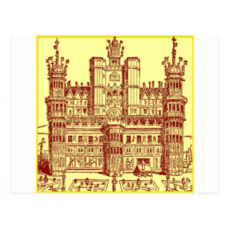 El castillo tarjetas postales