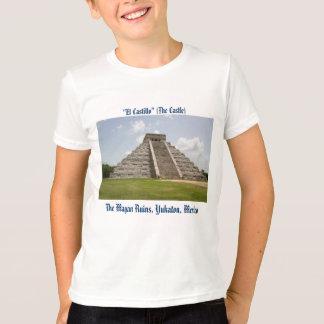 """El Castillo"" (The Castle) at Chichen Itza T-Shirt"