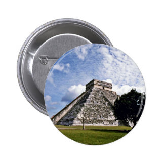 El Castillo-The Castle, Chichen Itza Buttons