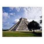 El Castillo-The Castle, Chichen Itza Postcard