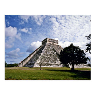 El Castillo-The Castle, Chichen Itza Postcard