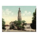 El castillo, Weimar, Thuringia, Alemania Postales