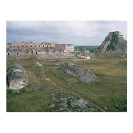 EL Castillo y el convento de monjas Tarjeta Postal
