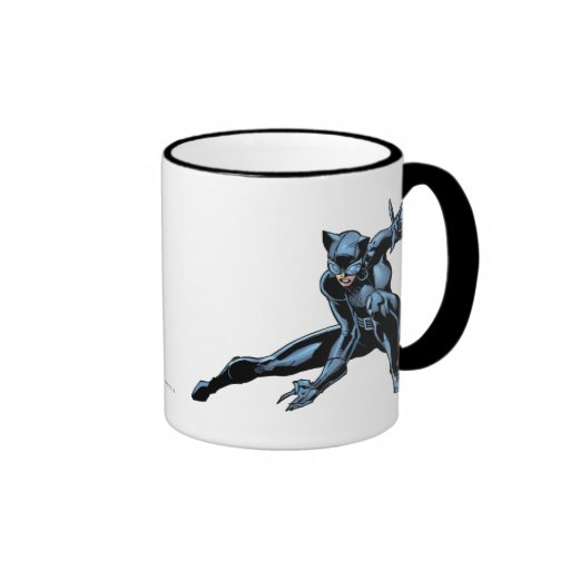 El Catwoman se agacha Taza