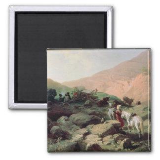 El Cáucaso, 1872 Imán Cuadrado
