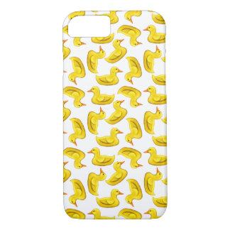 El caucho amarillo lindo Ducks el caso del iPhone Funda iPhone 7