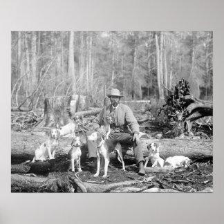El cazador con el suyo persigue, 1897 impresiones