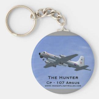 El cazador Cp - llavero de 107 Argus