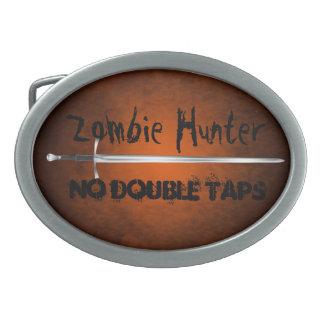 El cazador del zombi ningún doble golpea ligeramen hebilla de cinturon