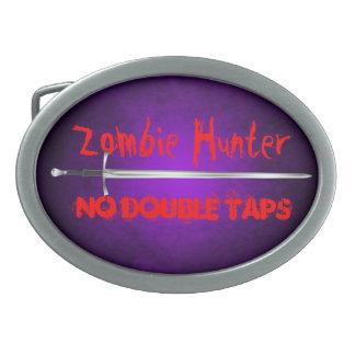 El cazador del zombi ningún doble golpea ligeramen hebilla cinturon