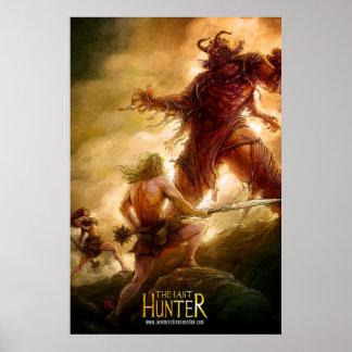 El cazador pasado - solenoide y Kainda contra Eshu Posters