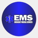 El ccsme - Servicios médicos de la emergencia Etiquetas Redondas