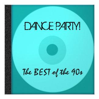 El CD del baile invita Invitacion Personal