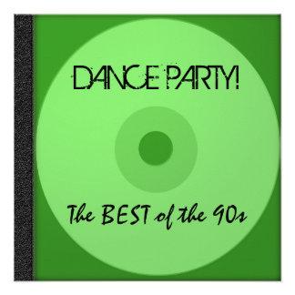 El CD del baile invita Invitaciones Personalizada